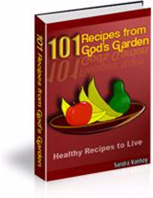 Picture of 101 Recipes From gods Garden