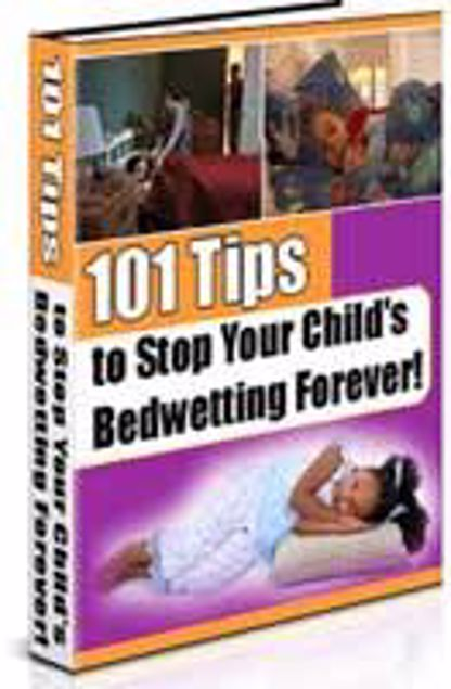 Picture of 101 Tips To Stop Your Child From Bed wetting Forever