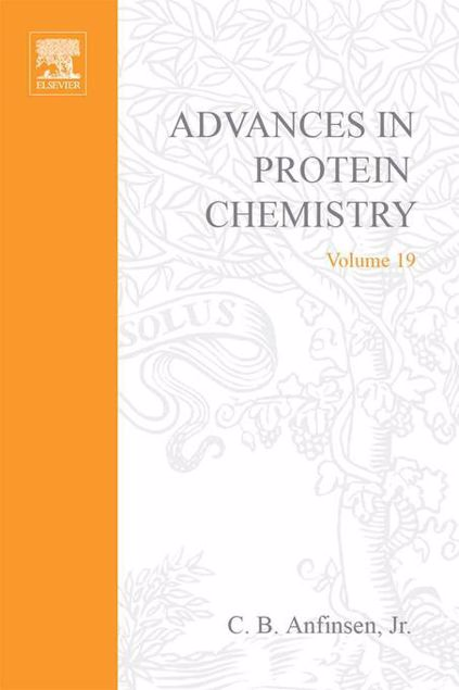 Picture of ADVANCES IN PROTEIN CHEMISTRY VOL 19
