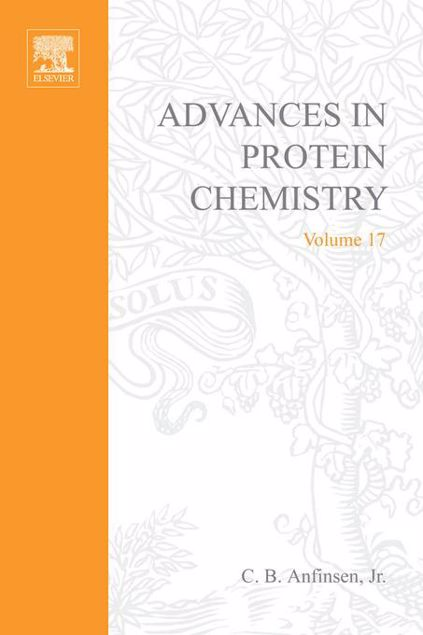 Picture of ADVANCES IN PROTEIN CHEMISTRY VOL 17