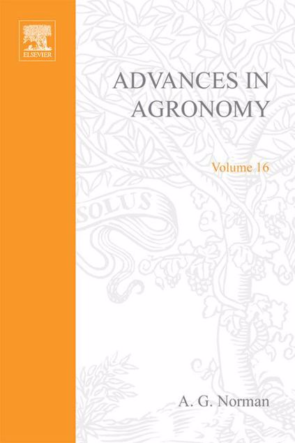 Picture of ADVANCES IN AGRONOMY VOLUME 16