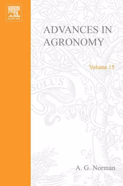Picture of ADVANCES IN AGRONOMY VOLUME 15
