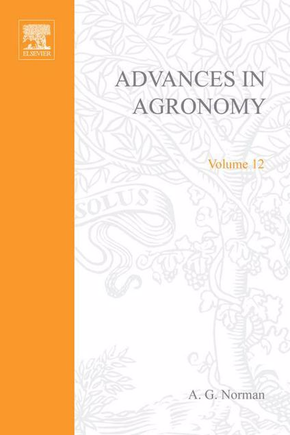 Picture of ADVANCES IN AGRONOMY VOLUME 12