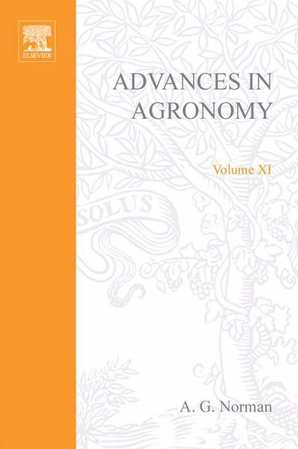 Picture of ADVANCES IN AGRONOMY VOLUME 11
