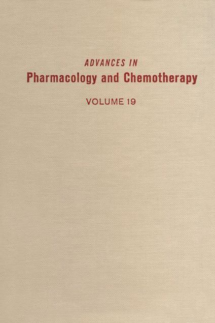 Picture of ADV IN PHARMACOLOGY &CHEMOTHERAPY VOL 19