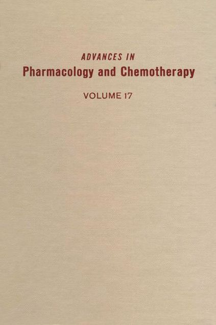 Picture of ADV IN PHARMACOLOGY &CHEMOTHERAPY VOL 17