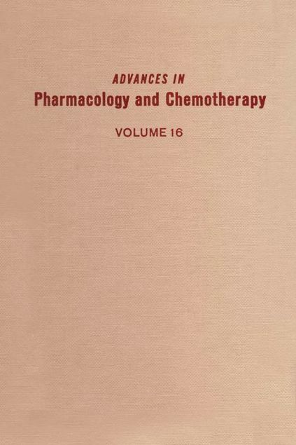 Picture of ADV IN PHARMACOLOGY &CHEMOTHERAPY VOL 16