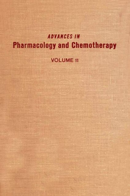 Picture of ADV IN PHARMACOLOGY &CHEMOTHERAPY VOL 11