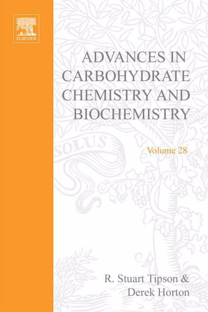 Picture of ADV IN CARBOHYDRATE CHEM & BIOCHEM VOL28