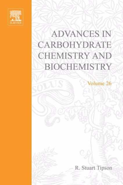 Picture of ADV IN CARBOHYDRATE CHEM & BIOCHEM VOL26