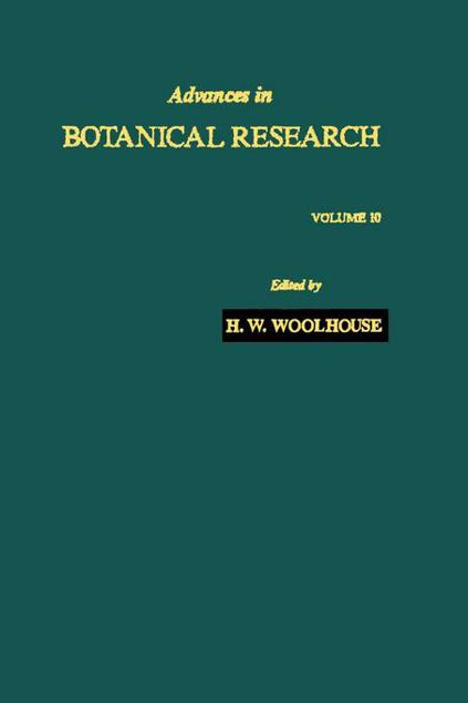 Picture of Advances in Botanical Research: Volume 10