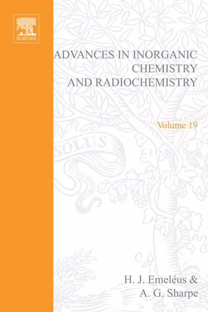 Picture of ADVANCES IN INORGANIC CHEMISTRY AND RADIOCHEMISTRY VOL 19