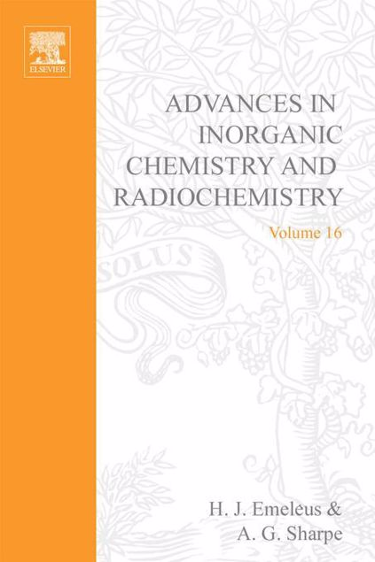 Picture of ADVANCES IN INORGANIC CHEMISTRY AND RADIOCHEMISTRY VOL 16