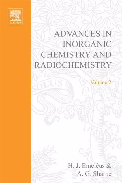 Picture of ADVANCES IN INORGANIC CHEMISTRY AND RADIOCHEMISTRY VOL 2