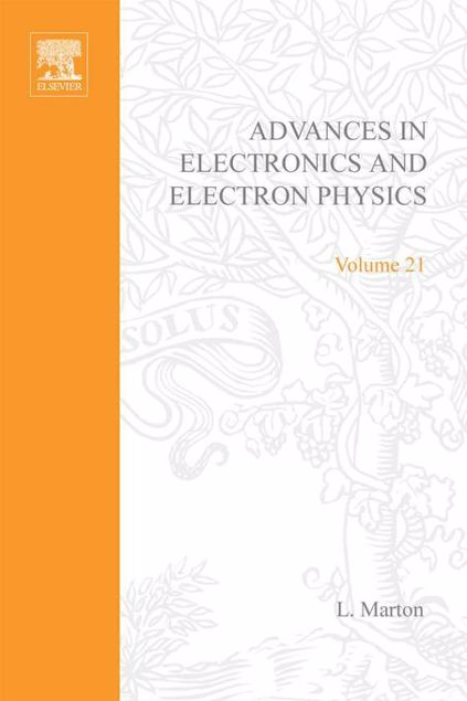 Picture of ADV ELECTRONICS ELECTRON PHYSICS V21