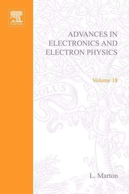 Picture of ADV ELECTRONICS ELECTRON PHYSICS V18