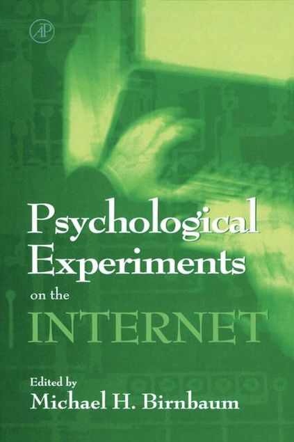 Picture of Psychological Experiments on the Internet