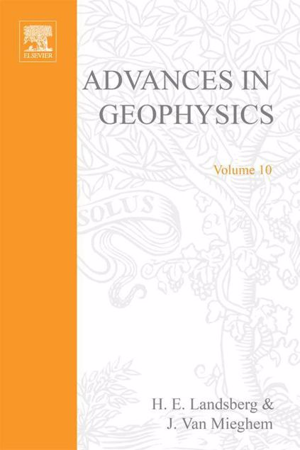 Picture of ADVANCES IN GEOPHYSICS VOLUME 10
