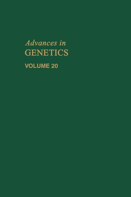 Picture of ADVANCES IN GENETICS VOLUME 20