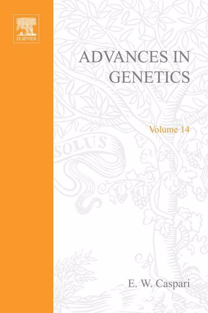 Picture of ADVANCES IN GENETICS VOLUME 14