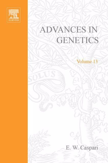 Picture of ADVANCES IN GENETICS VOLUME 13