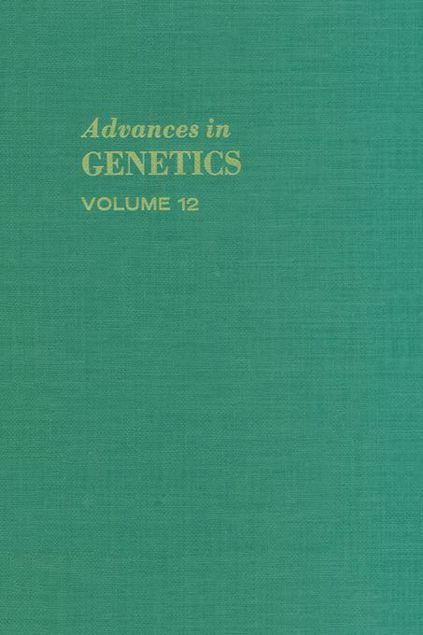 Picture of ADVANCES IN GENETICS VOLUME 12