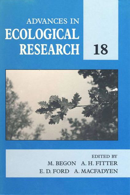 Picture of Advances in Ecological Research: Volume 18