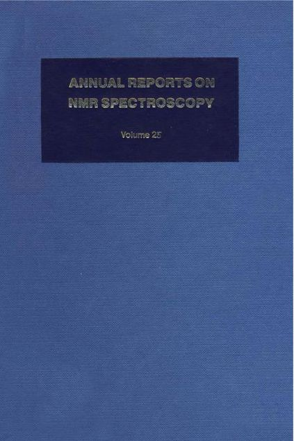 Picture of Annual Reports on NMR Spectroscopy: Volume 25