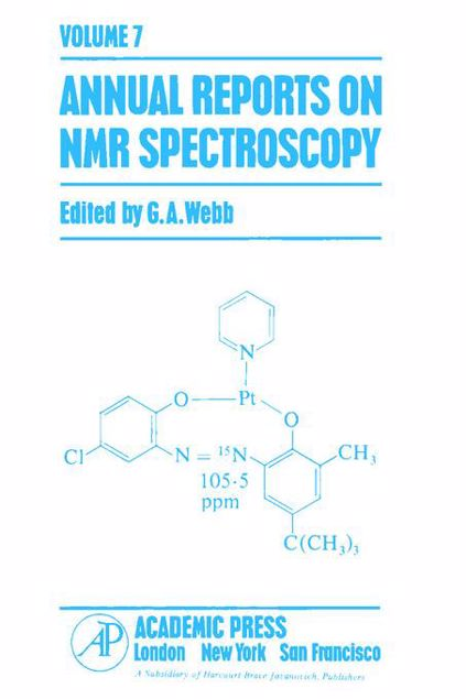 Picture of Annual Reports on NMR Spectroscopy APL