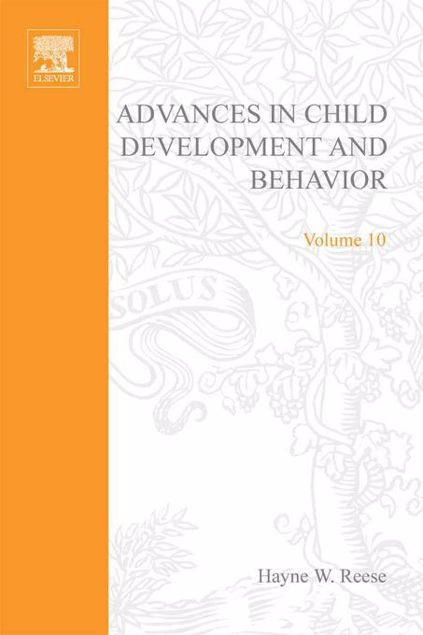 Picture of ADV IN CHILD DEVELOPMENT &BEHAVIOR V10