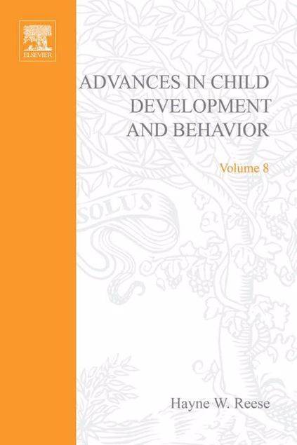 Picture of ADV IN CHILD DEVELOPMENT &BEHAVIOR V 8
