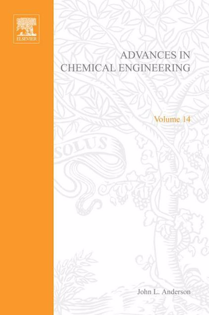 Picture of ADVANCES IN CHEMICAL ENGINEERING VOL 14