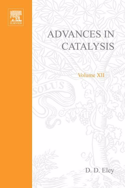 Picture of ADVANCES IN CATALYSIS VOLUME 12