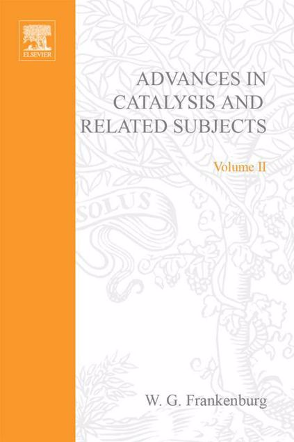 Picture of ADVANCES IN CATALYSIS VOLUME 2