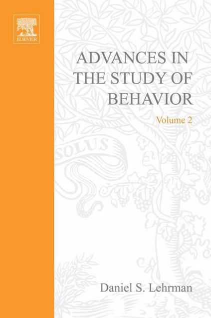 Picture of ADVANCES IN THE STUDY OF BEHAVIOR VOL 2