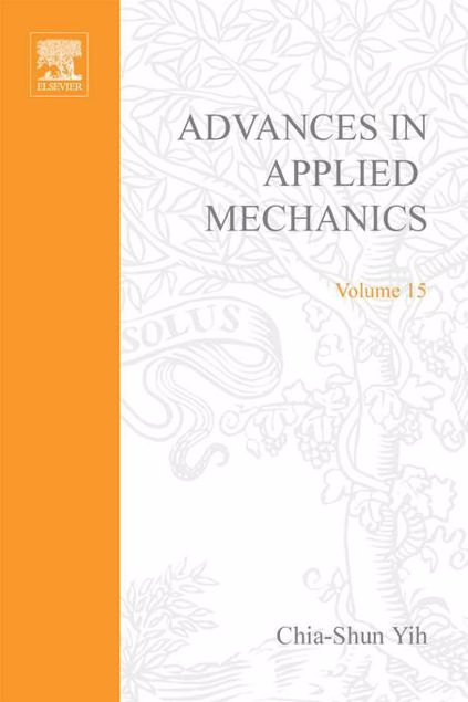 Picture of ADVANCES IN APPLIED MECHANICS VOLUME 15