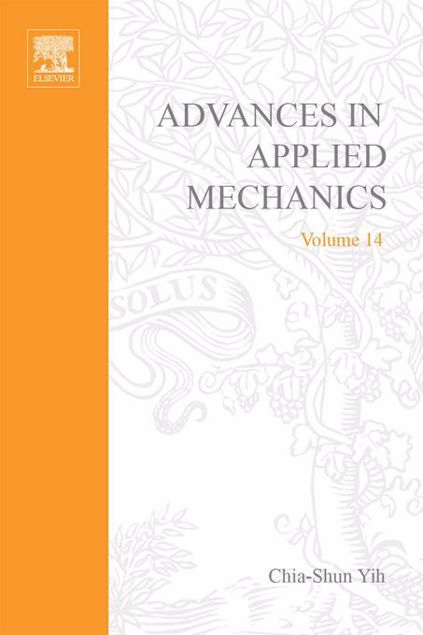 Picture of ADVANCES IN APPLIED MECHANICS VOLUME 14