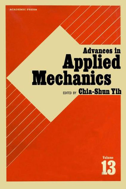 Picture of ADVANCES IN APPLIED MECHANICS VOLUME 13