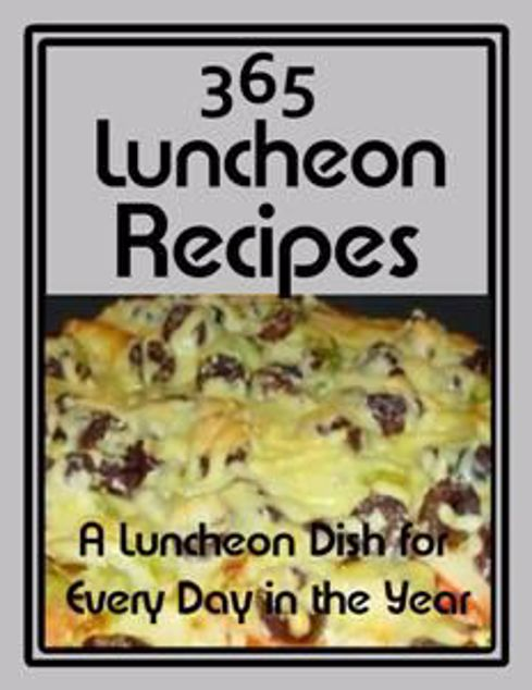 Picture of 365 Luncheon Recipes