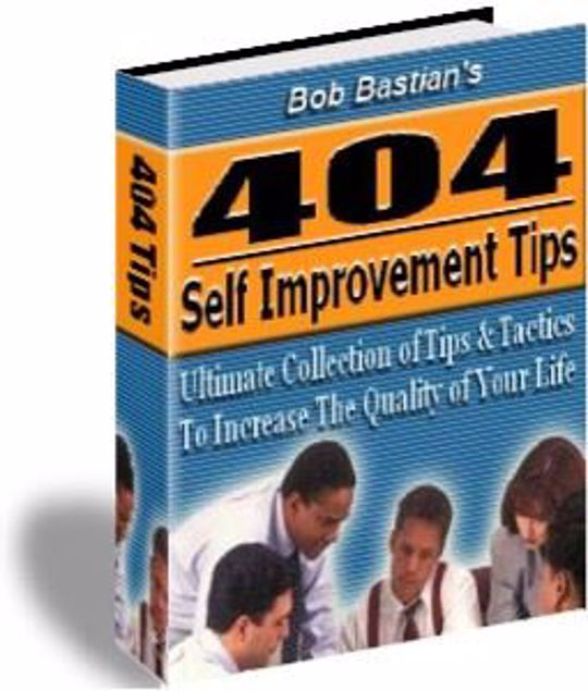 Picture of 404 Self Improvement Tips