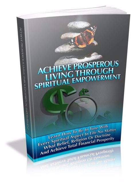 Picture of Achieve Prosperous Living Through Spirit