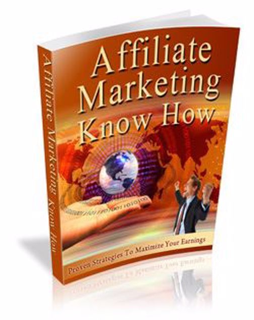 Picture of Affiliate Marketing Know How