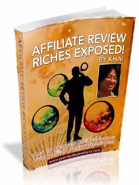 Picture of Affiliate Review Riches Exposed