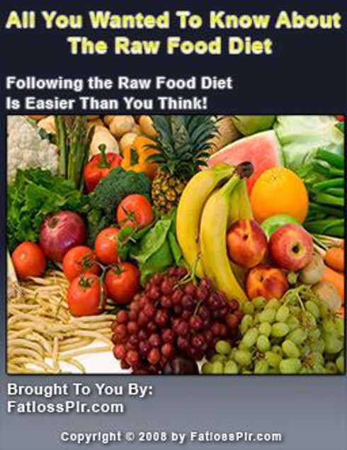 Picture of All You Need To Know About The Raw Food Diet