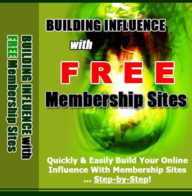 Picture of Building Influence With Free Membership Sites