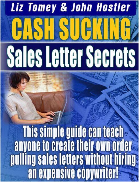 Picture of Cash Sucking Sales Letters Secretes