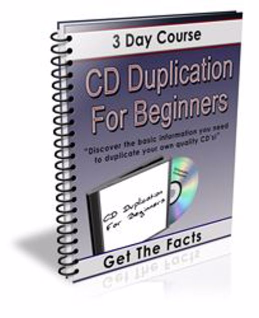 Picture of CD Duplication For Beginners