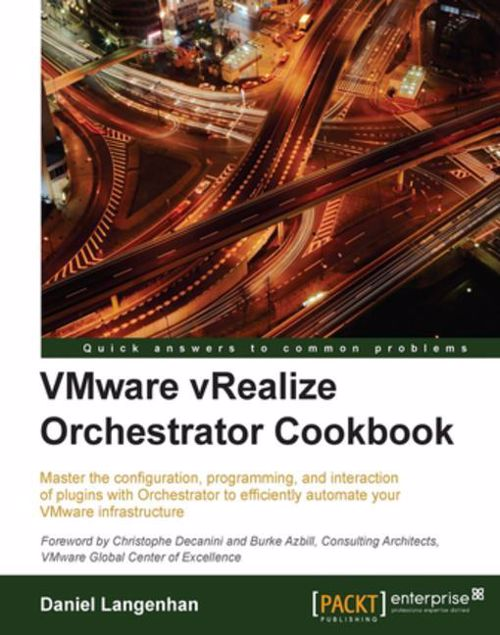 Picture of VMware vRealize Orchestrator Cookbook