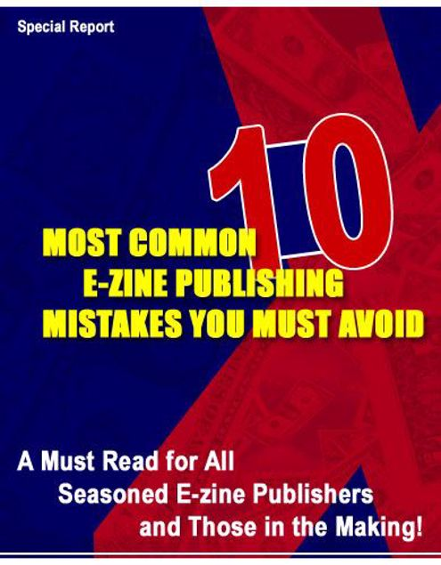 Picture of 10 Most Common Ezine Publishing Mistakes
