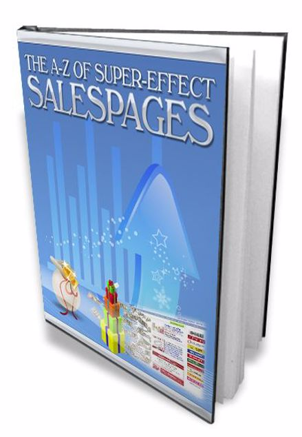Picture of A-Z of Super-Effective Sales Pages